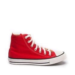 Tenis-All-Star-Converse-Chuck-Taylor-Cano-Alto-Vermelho