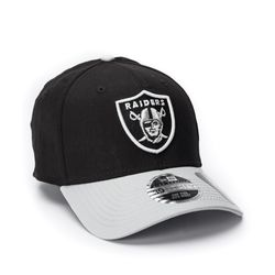 Bone-New-Era-3930-Basic-Preto-e-Branco-Raiders-NFL