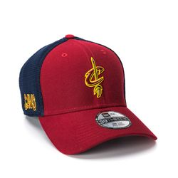 Bone-New-Era-3930-OTC-Vinho-Cleveland-Cavaliers-NBA