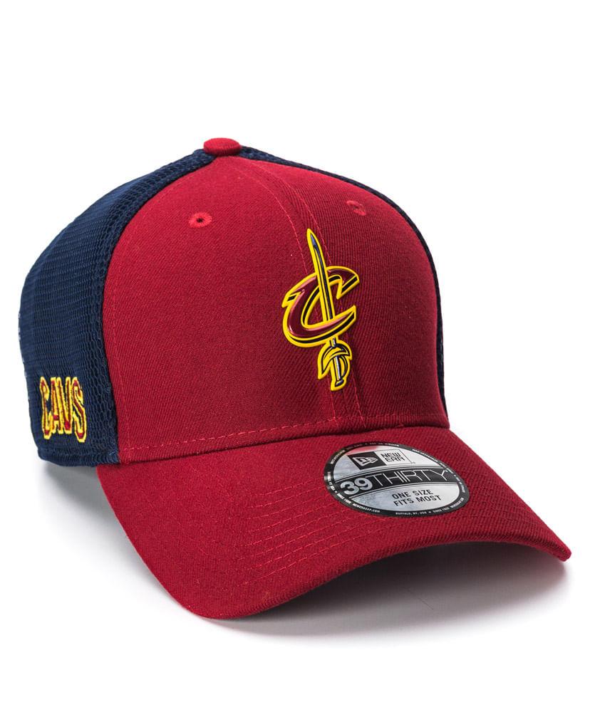 Boné New Era 3930 OTC Vinho Cleveland Cavaliers NBA - ophicina ac338b69abe