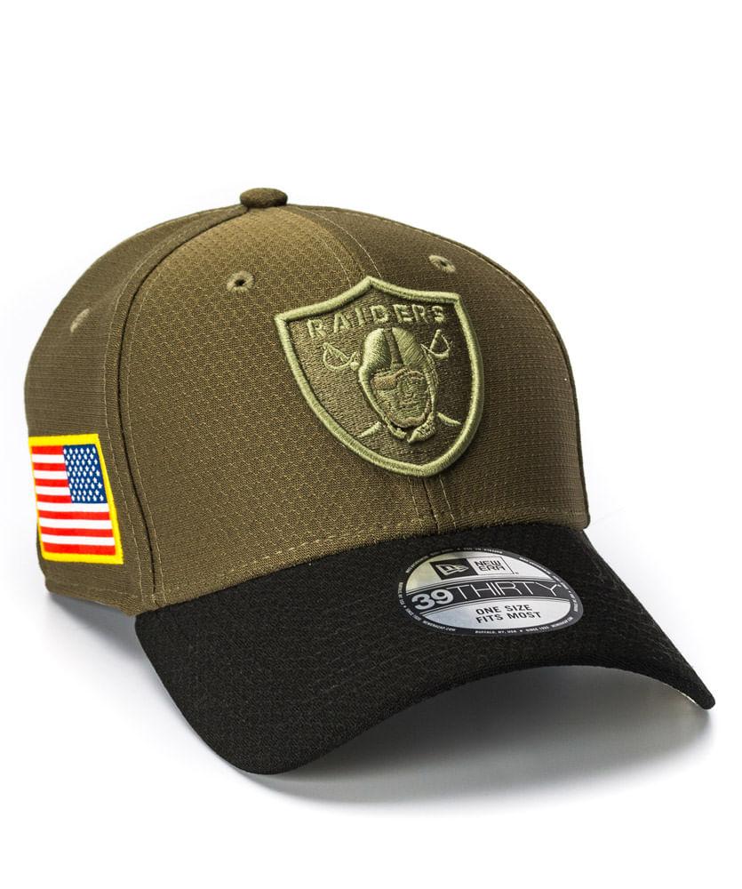 Boné New Era STS Verde Raiders NFL - ophicina 4167a8f5943