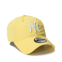 Bone-New-Era-920-Amarelo-NY-Yankees--MLB