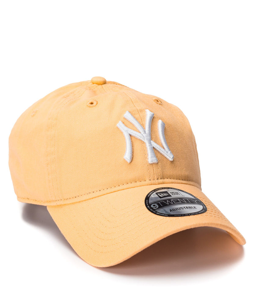 Boné New Era 920 Laranja NY Yankees MLB - ophicina 77e29ce5d4a