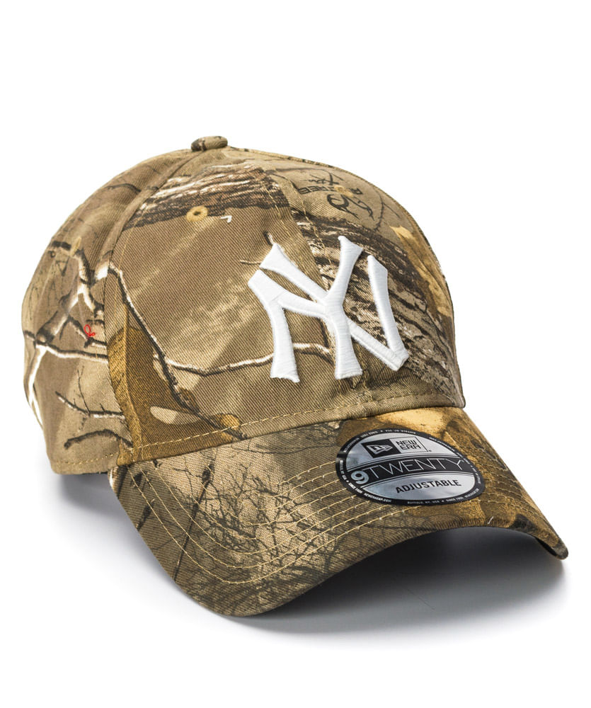 Boné New Era 920 Real Tree Marinho NY Yankees MLB - ophicina 1818d8c18b4