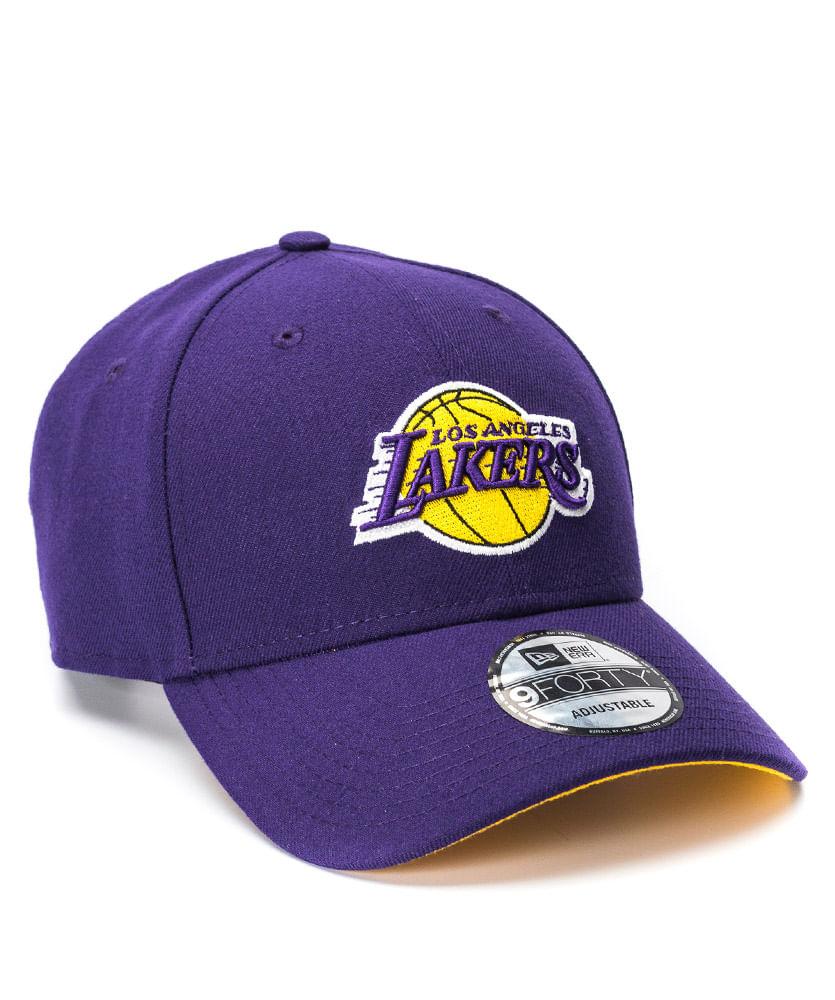 deaff1ebedcb4 Boné New Era 940 Primary Roxo LA Lakers NBA - ophicina