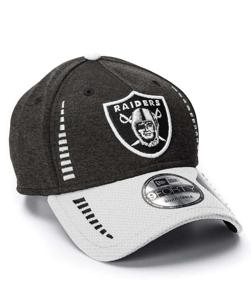 49d8d90fa1 ... Bone-New-Era-940-FG-Preto-Raiders-NFL. voltar para Bonés
