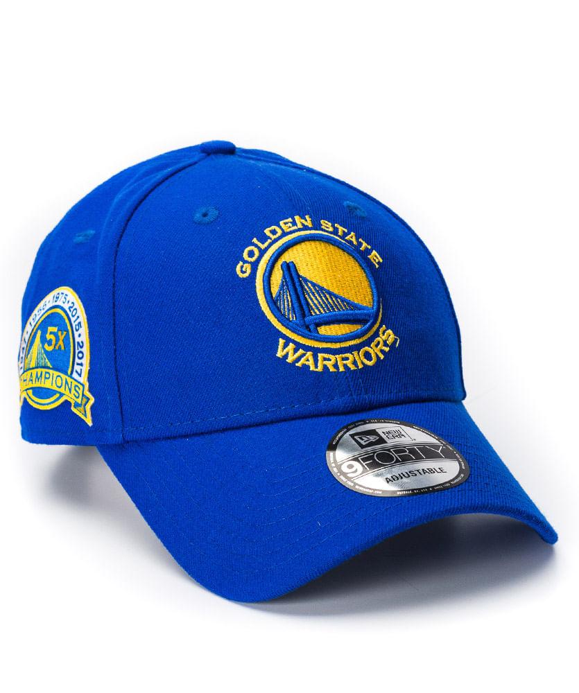 Boné New Era 940 ST League Royal GS Warriors NBA - ophicina 58ccfd331b6