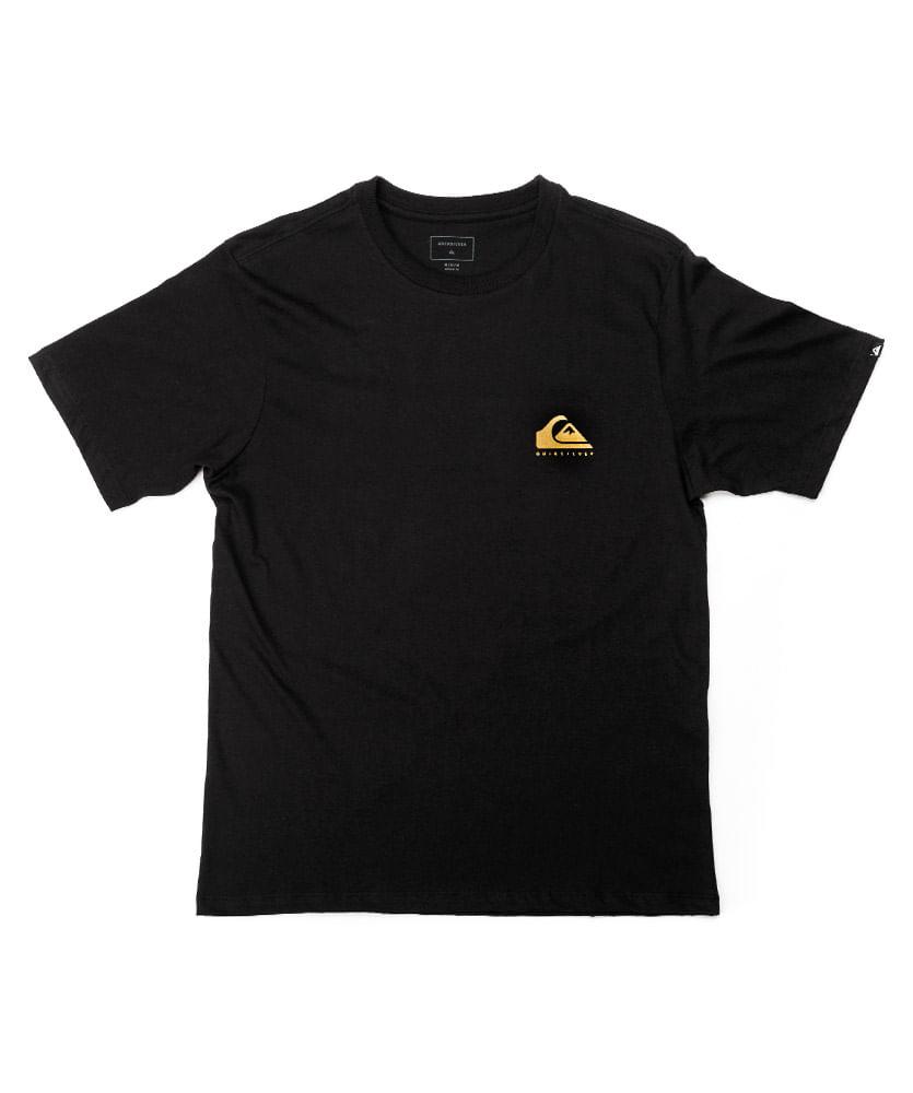 7ba9884c720 Camiseta Quiksilver Silk Friendly Fire Preta - ophicina