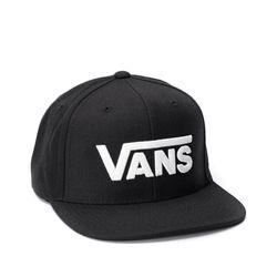 Bone-Vans-Drop-V-II-Snapback-Preto-