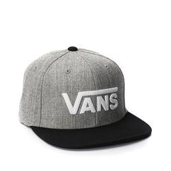 Bone-Vans-Drop-V-II-Snapback-Cinza-