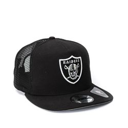 Boné New Era 950 Trucker AF Preto Raiders NFL 100b4bb7e10
