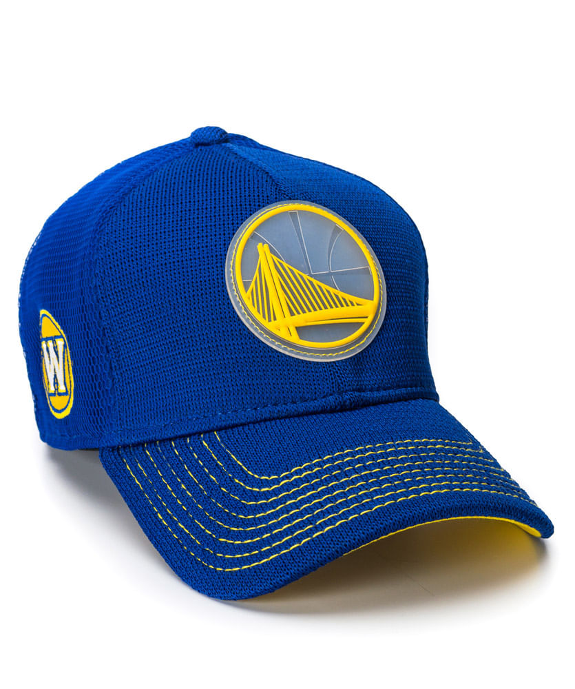 Boné New Era 3930 AS18 Azul Royal GS Warriors NBA - ophicina 6cbd8677124