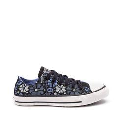 Tenis-Chuck-Taylor-All-Star-Converse-Floral-Preto