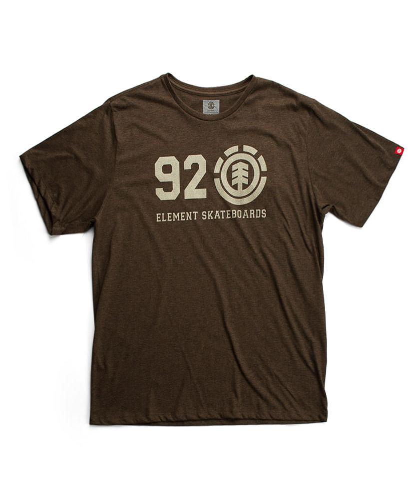 Camiseta Element Original Marrom - ophicina f31d10fd446