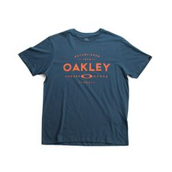 Camiseta-Oakley-Established-Azul