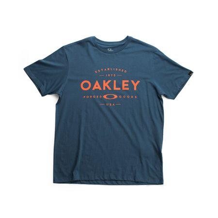 Camiseta-Oakley-Established-Azul