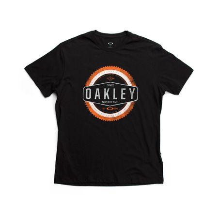 Camiseta-Oakley-Silk-Saw-2.0-Preta