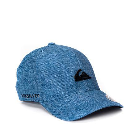 Boné Quiksilver Denim Imp Azul - ophicina e32c4348bb7