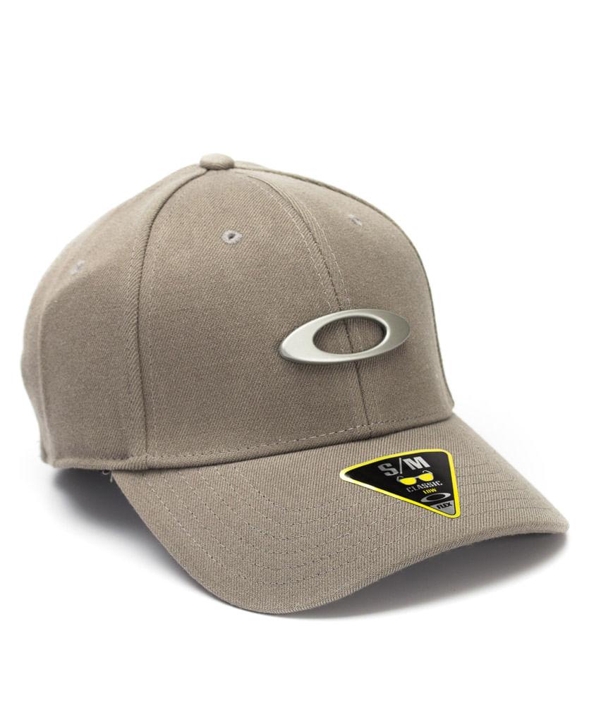 Boné Oakley Tincan Cap Cinza - ophicina 6a141c1351a