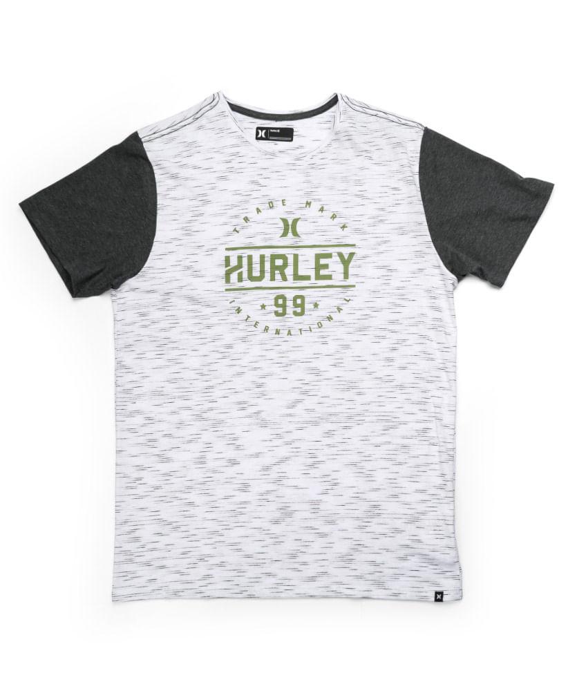 Camiseta Hurley Especial Nine Nine Verde Mescla - ophicina 97271165bd2