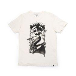 Camiseta-Quiksilver-Silk-Skull-Mermaid-Branca