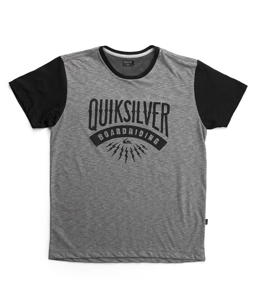 Camiseta Quiksilver Especial Sunset CO Preta - ophicina abf68d177b3