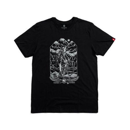 Camiseta-Element-Silk-Riders-Preta