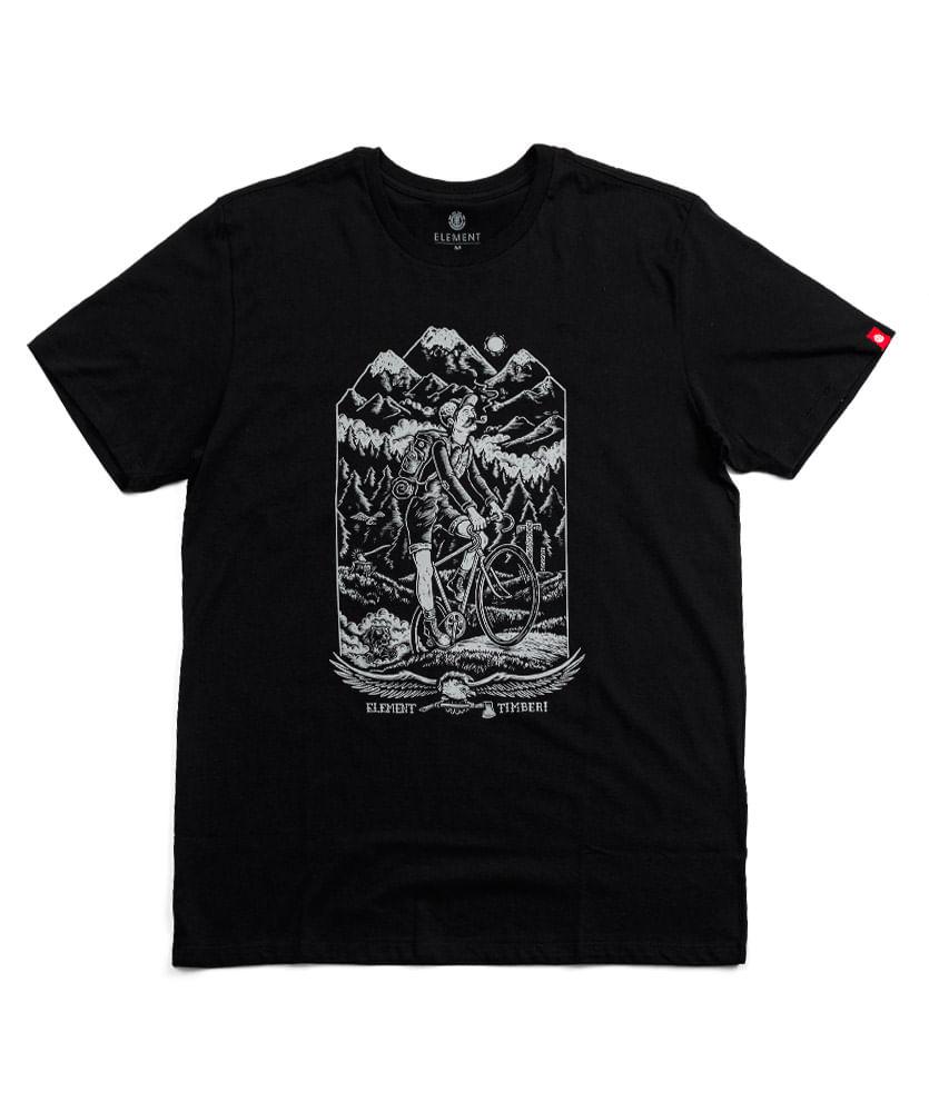 62baabeeaaf Camiseta Element Silk Riders Preta - ophicina