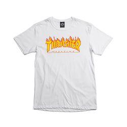 Camiseta-Thrasher-Flame-Branca