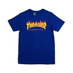 Camiseta-Thrasher-Flame-Azul