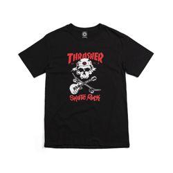 Camiseta-Thrasher-Skate-Rock-Preta