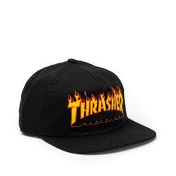 Bone-Thrasher-Snapback-Flame-Preto