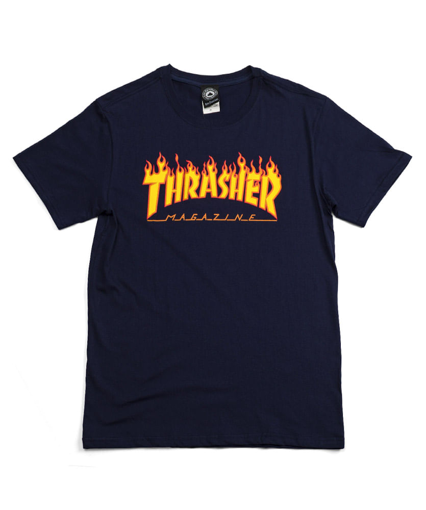 40965c5b1 Camiseta-Thrasher-Flame-Roxo. voltar para Camisetas e Regatas