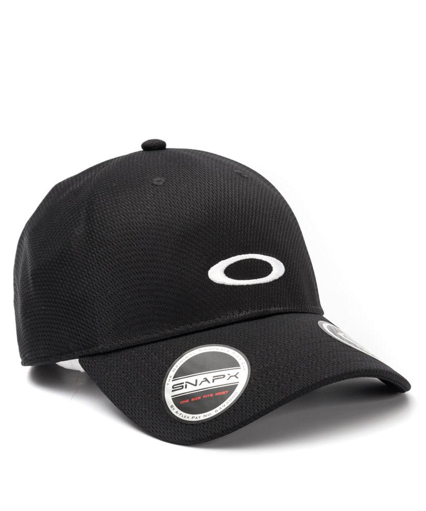 Boné Oakley Tech Cap Preto - ophicina 880d3a33897