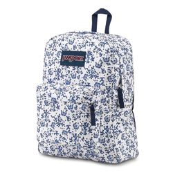 Mochila JanSport Superbreak White Field Floral 1555da29594