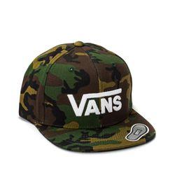 Bone-Vans-Drop-V-II-Snapback-Camo