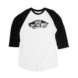 Camiseta-Raglan-Vans-OTW-Branca-e-Preta