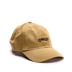 Bone-Oakley-6-Panel-Washed-Cotton-Caqui-912029-30W-01