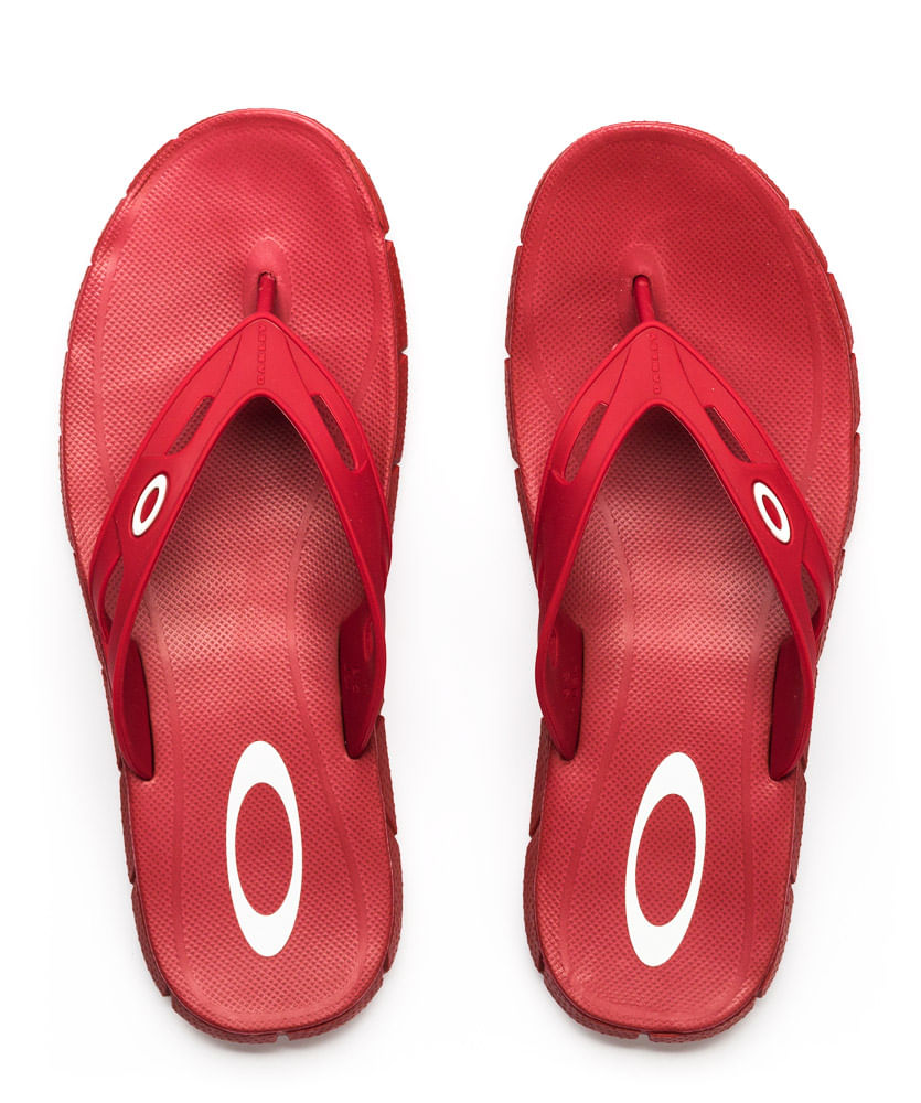 41188eca1272c2 Chinelo-Oakley-Operative-3.0-Vermelho-10190BR-40L - ophicina