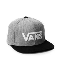 Bon-®-Vans-Drop-V-II-Snapback-Cinza-VN-0A36ORHGB-01