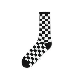 Meia-Vans-Checkerboard-Crew-II-Preta-e-Branca-VN-0A4A5WHU0