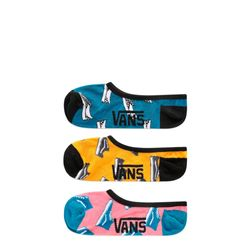 Meia-Vans-Kick-Back-Canoodles-3-Pack-Multi-Cores-VN-0A3UQX448