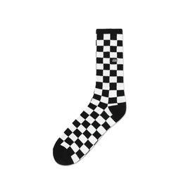 Meia-Vans-Checkerboard-Crew-II-Preta-e-Branca-VN-0A4A5VHU0