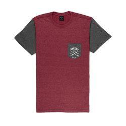 Camiseta-Oakley-Especial-Surf-Bolt-SP-TEE-Vermelho-Escuro-Mescla-457302