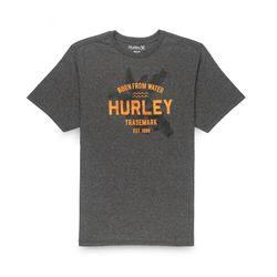 Camiseta-Hurley-Silk-Born-From-Water-Mescla-Escuro-641021