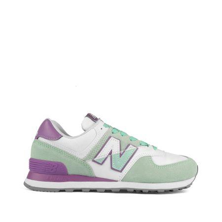 Tenis-New-Balance-Verde-Agua-e-Roxo-wl574nhb