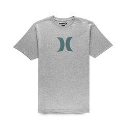 Camiseta-Hurley-Icon-Cinza-Mescla-