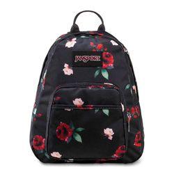 Mochila-Jansport-Half-Pint-Preta-Floral-3C4S74L-01
